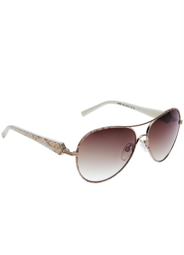 0466a3160cd3e Óculos de Sol Ana Hickmann Ah3090 Marrom - Multimarcas