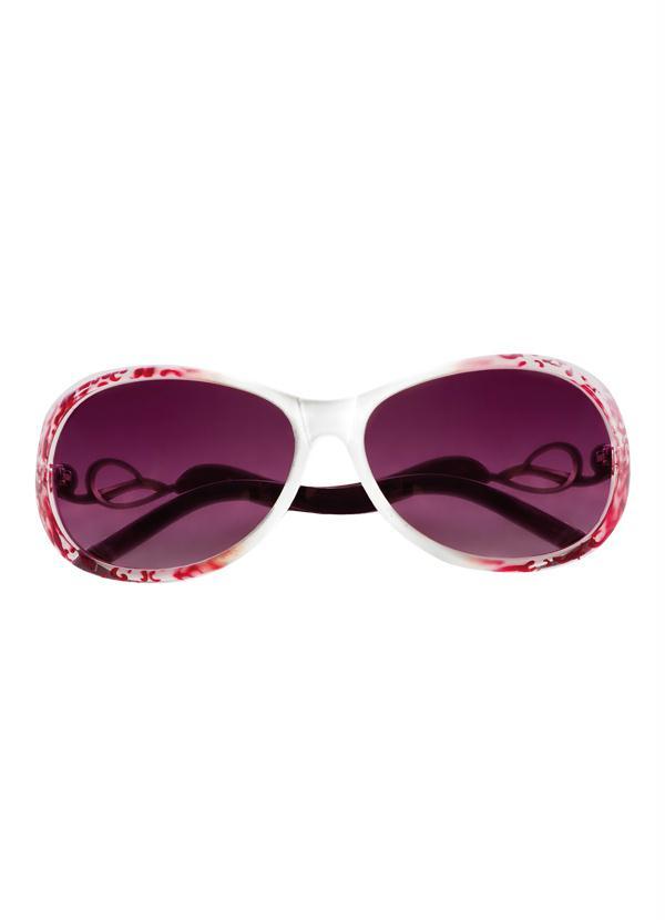 8e244e655 Queima estoque - Óculos de Sol Feminino Branco - Queima de Estoque
