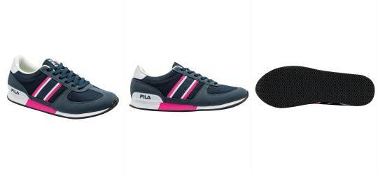 da5a54b054abf 1.3591428995132446 Tênis Fila F-Retro Sport 2.0 Azul e Rosa