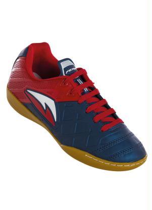 Chuteira Azul e Vermelha para Futsal Perfecta fdfb03b7caa58