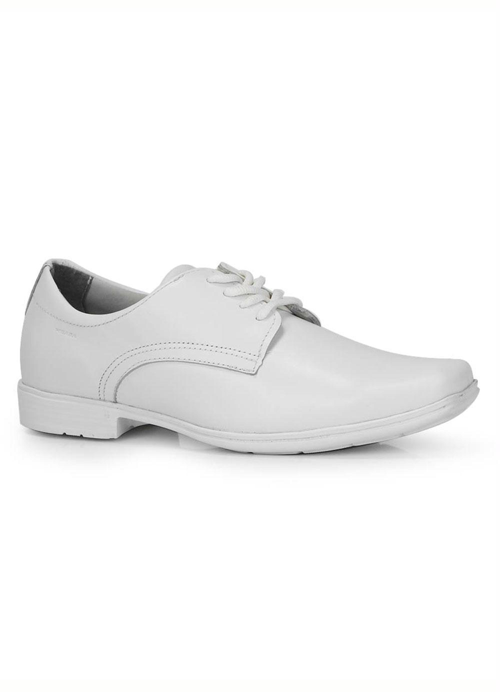 b35c5eed7c842 Sapato Masculino Pegada Branco - Passarela