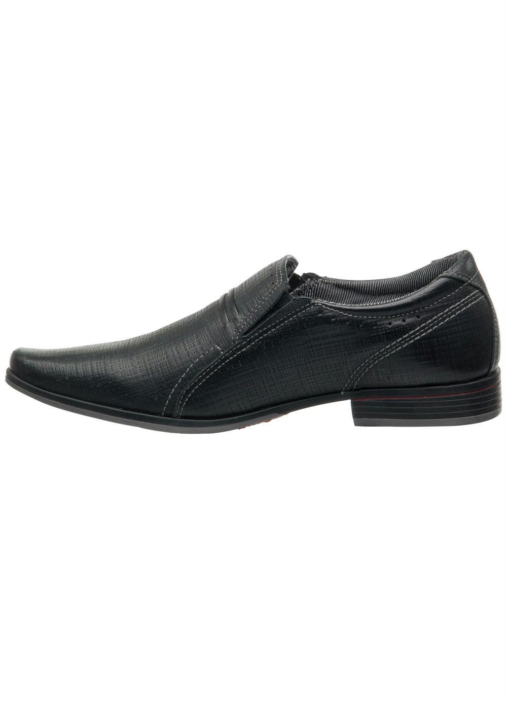 70e96113c Sapato Pegada Preto Fivela Decorativa - Multimarcas