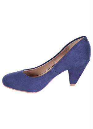 cd7b180f47 Sapato Scarpin Azul Beira Rio - Perfecta