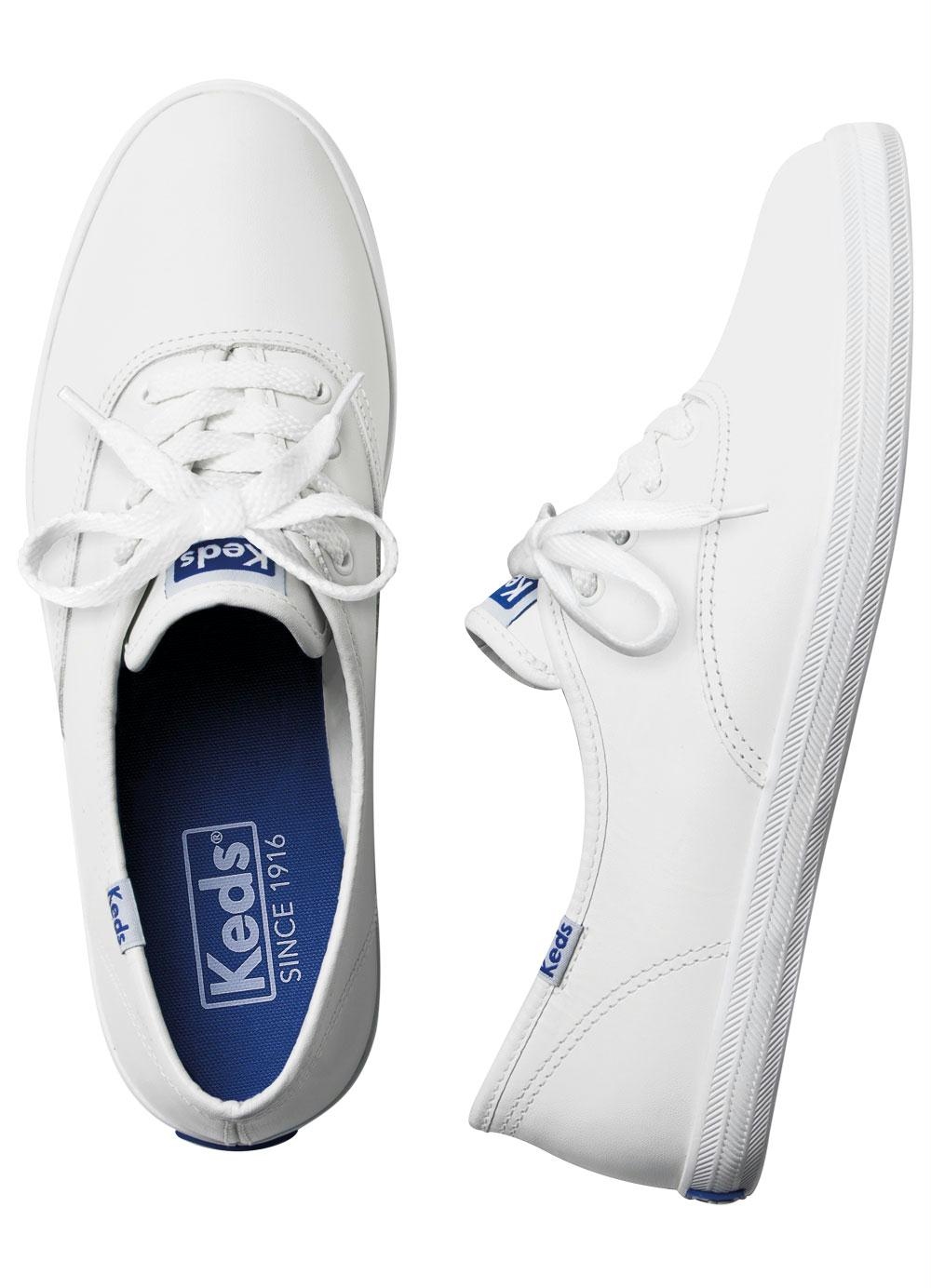 7fb3ac27aa4f4 Tênis Keds Champion Woman Leather Branco - Multimarcas