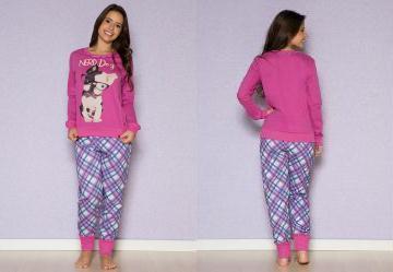 4c8ee6f17 Pijama Longo Feminino - Compre Online