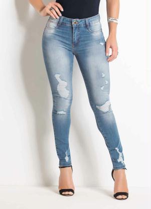 e79f53e51 produto Sawary Jeans - Calça Sawary Cigarrete Jeans Levanta Bum Bum