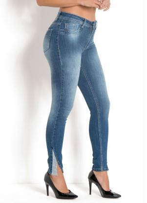 549c38ede Calça Sawary Hot Pant com Strass Jeans