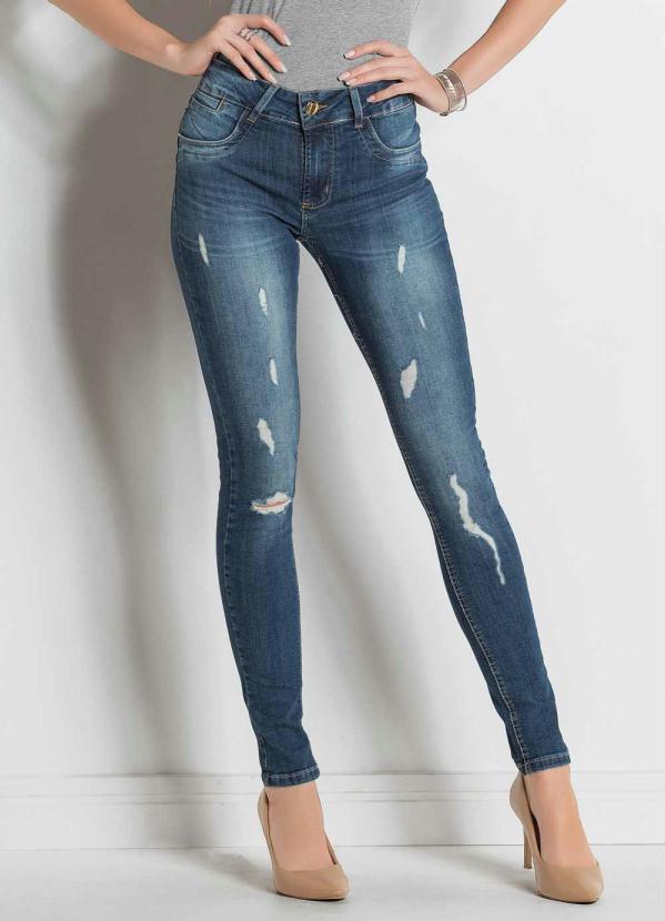 52ae9ef53 Sawary jeans - Calça Legging Sawary Jeans com Puídos - Sawary Jeans