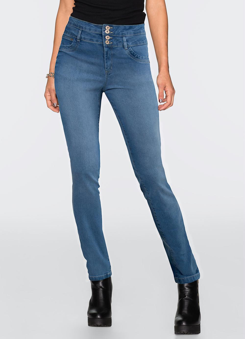 8483b9a80 Calça Jeans Skinny Azul Médio - bonprix
