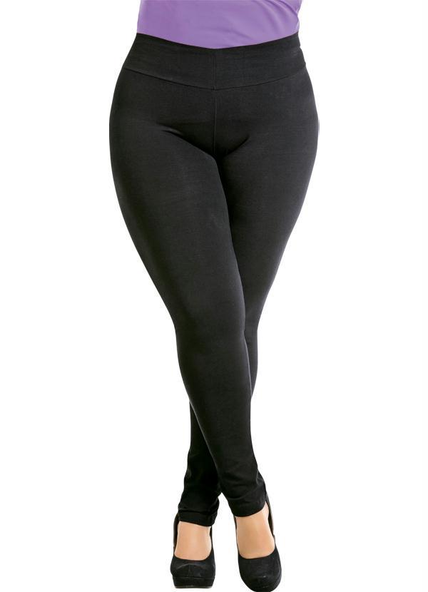 523c8c554 Calça Legging Preta Plus Size - Marguerite