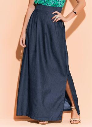 076894685d produto Quintess - Saia Longa Jeans