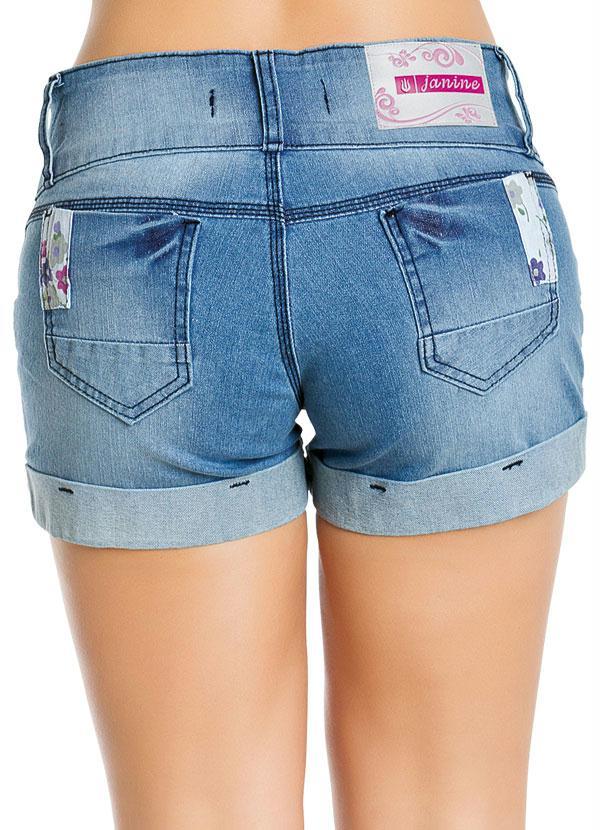f086b1d601 Short Jeans Feminino Azul - Multimarcas