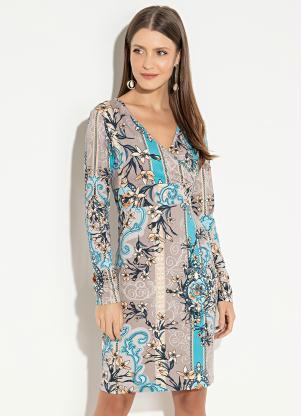 a06b83546 produto Quintess - Vestido Quintess Clássico Lenço com Cós