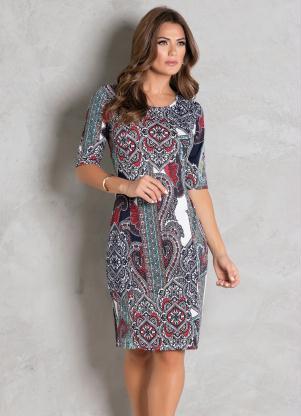 59152d0661f5 Vestidos Médios - Compre Online | Posthaus