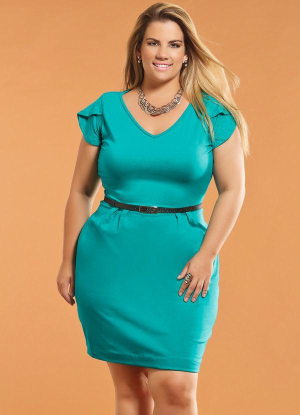 Vestido de festa verde turquesa
