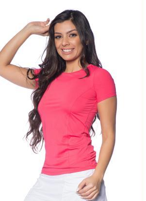 5bbf79492 Janfer - Blusa com Proteção Uv Vermelha Janfer