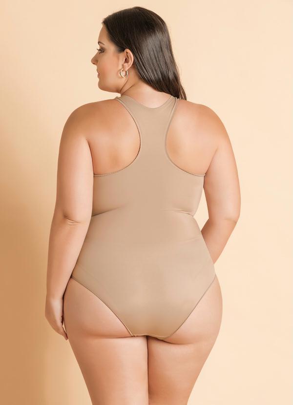 e1c85cdfc Christian gray - Body Modelador Plus Size Chocolate - Christian Gray