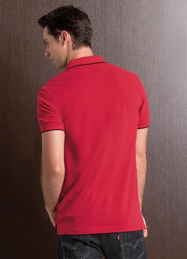 Multimarcas - Camisa Polo Levis Housemark Vermelha - Multimarcas 6a6d61c9e79