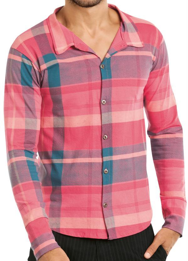 Camisa Xadrez Manga Longa - Queima de Estoque 8d911297a991d