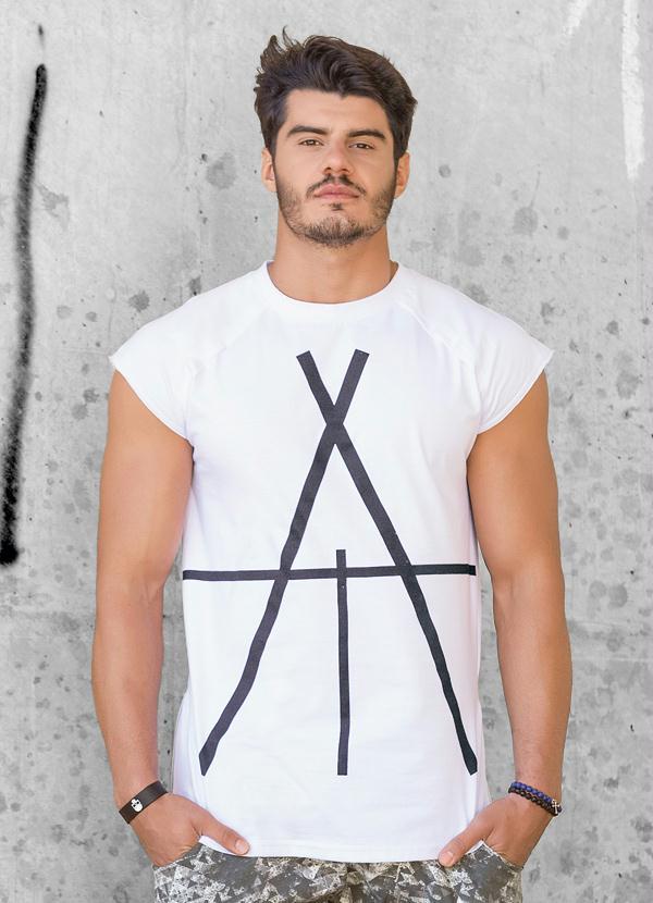 8b6d5553e31e6 Multimarcas - T-Shirt Levis Stars Branca - Multimarcas