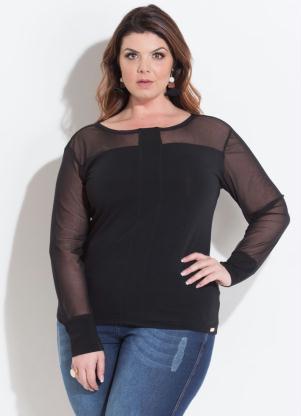 aa3cfece1 Blusas - Plus Size Feminino | Quintess Outlet