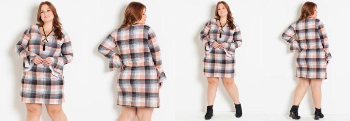 609579e75 Vestidos Manga Longa Plus Size - Compre Online | Posthaus