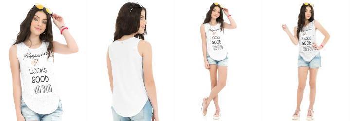 a36115a51afe5 Blusas Teen - Compre Online   Posthaus