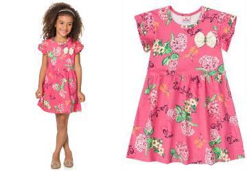 2c01c0204dc7d 0.6011513471603394 Vestido Infantil Menina Brandili Rosa