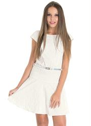 Vestido Feminino Off White Amora