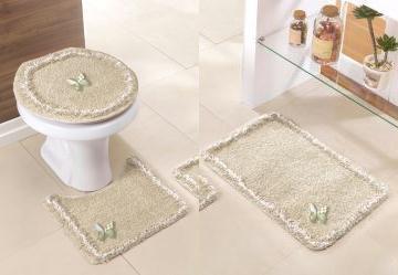 Jg de Banheiro Delicate Lilás