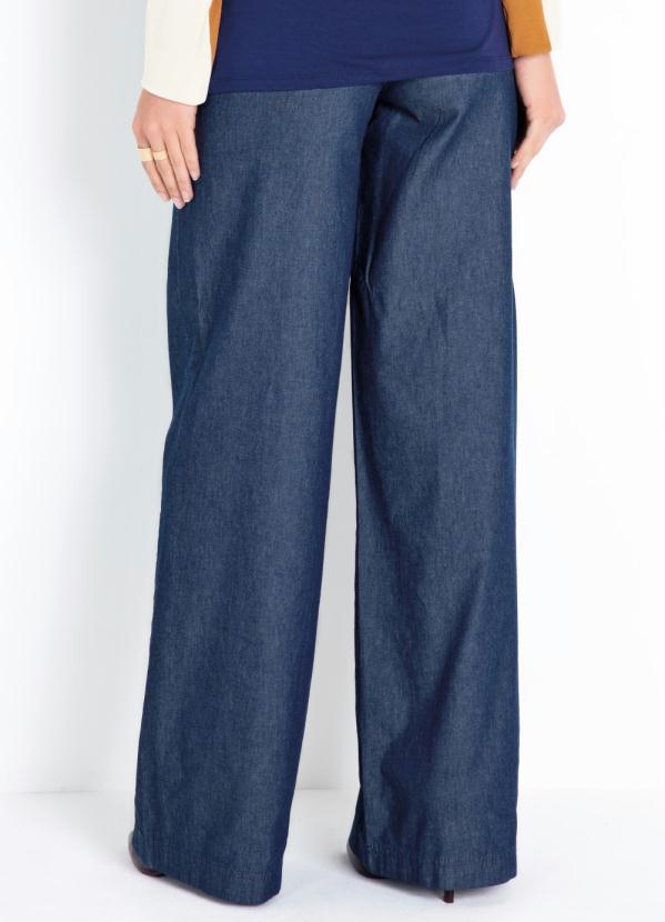 8c07c8d10 Calça Jeans Pantalona Quintess - Quintess