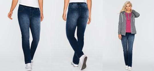 14767b8af 0.0 Calça Jeans Jegging Azul Escuro