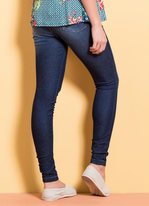 4473096db Calça Jeans Jegging Cintura Alta Quintess - Quintess
