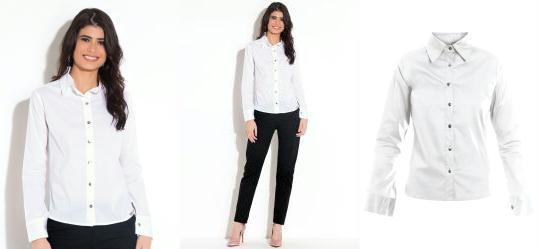 Camisa Clássica Branca