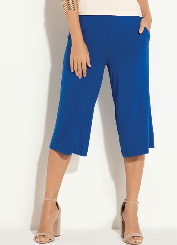 zapatos deportivos a25a6 7f6e9 Calça (Azul) com Bolso Funcional