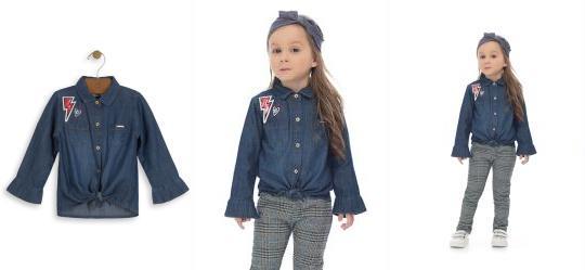 39758578538378 Camisa - Roupa para Menina | Up Baby