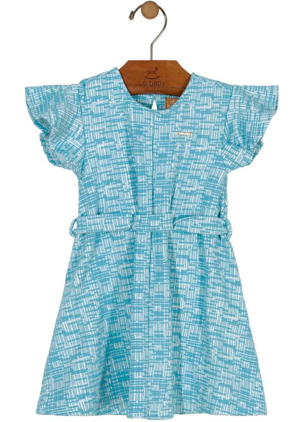 Up Baby - Vestido de Laço Azul