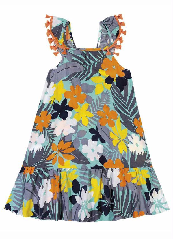 Nanai - Vestido Infantil Turmalina