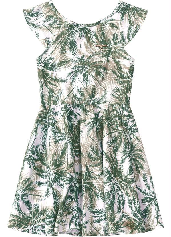 Carinhoso - Vestido Verde Detalhe Costas