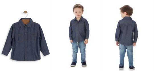 7653a4ab28 Camisa Manga Longa - Roupa para Menino | Vestis