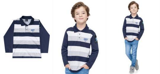5dbd740936 Camisa Manga Longa - Roupa para Menino | Quimby